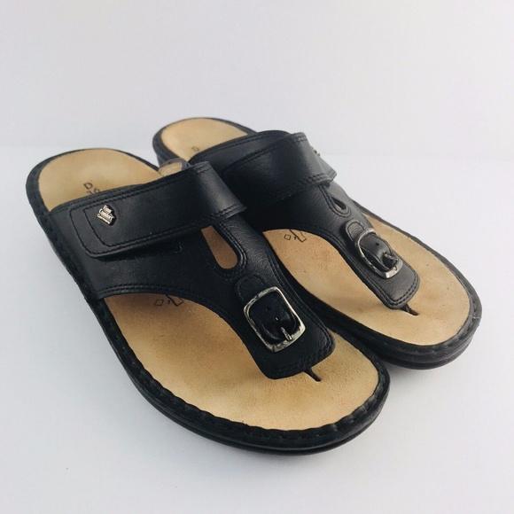 15d5dcb43 Finn Comfort Shoes - 🌴 Finn Comfort Germany Leather Flip Flop 36D